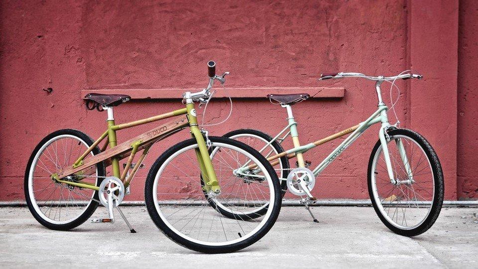 Çift Bisiklet Kanvas Tablo