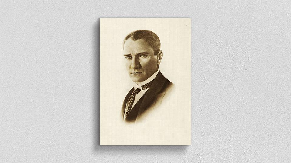 Atatürk Portre Kanvas Tablo