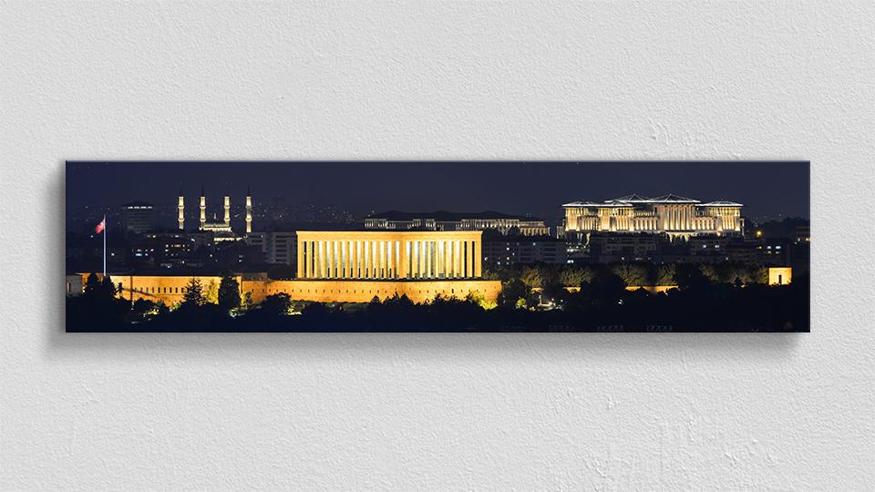 Anıtkabir Panoramik Kanvas Tablo