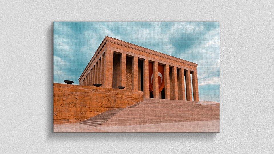 Anıtkabir Perspektif Kanvas Tablo