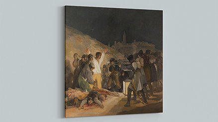 Francisco Goya 3 Mayıs 1808  Kanvas Tablo