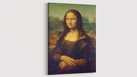 Leonardo da Vinci Mona Lisa Kanvas Tablo