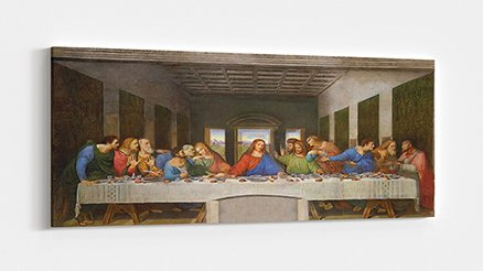 Leonardo da Vinci Son Aksam Yemeği Kanvas Tablo