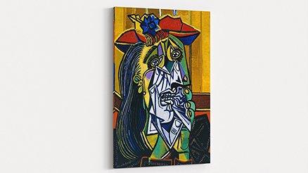 Pablo Picasso Ağlayan Kadın Kanvas Tablo