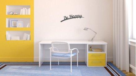 Be Happy Duvar Dövmesi