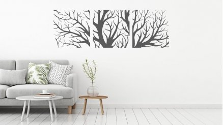 3 Parça Ağaç Dalları Duvar Dövmesi