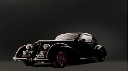 Siyah Klasik Araba Duvar Kağıdı