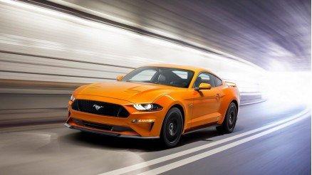 Sarı Mustang Duvar Kağıdı