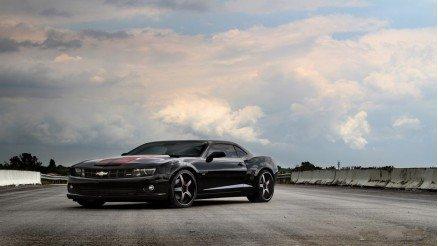 Siyah Chevrolet Duvar Kağıdı