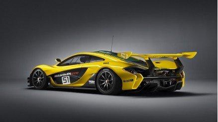 Sarı McLaren P1 Duvar Kağıdı