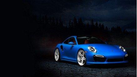 Mavi Porsche Duvar Kağıdı