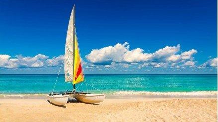 Rüzgar Sörfü ve Durgun Deniz Duvar Kağıdı