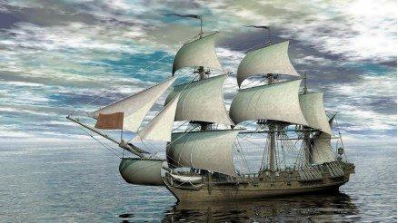 Korsan Gemisi Duvar Kağıdı