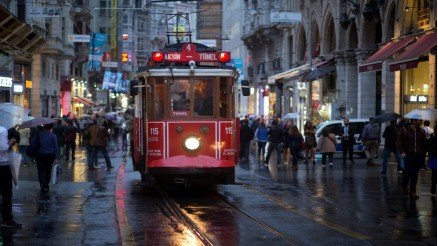 Beyoğlu-Taksim Tramvayı Duvar Kağıdı