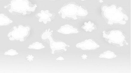 Bulut Şekilleri Duvar Kağıdı