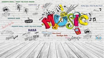 Müzik Temalı Duvar Kağıdı