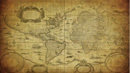 Eski Harita Duvar Kağıdı