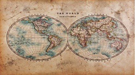 Renkli Global Duvar Kağıdı