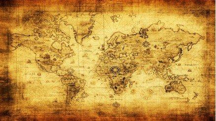 Eskitme Dünya Duvar Kağıdı