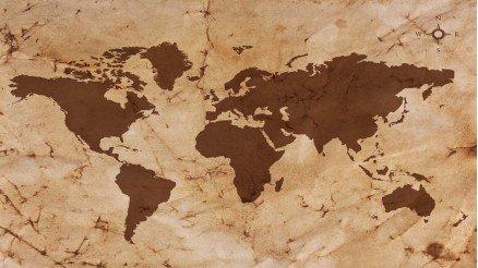 Kahverengi Dünya Duvar Kağıdı