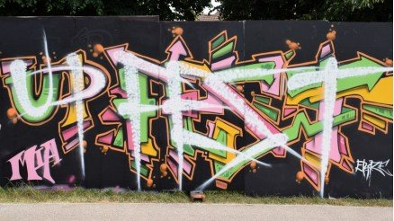 Upfest Grafiti Duvar Kağıdı