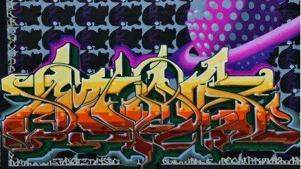 Grafiti Yazı Duvar Kağıdı