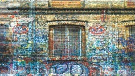 Karalama Pencere Duvar Kağıdı