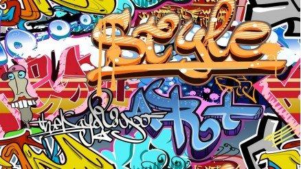 Style Grafiti Duvar Kağıdı
