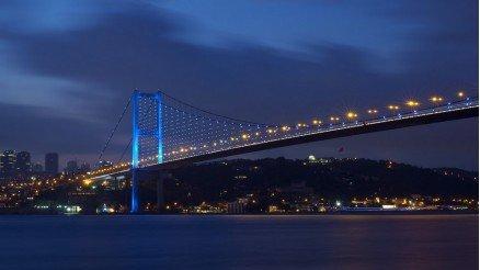 İstanbul Köprü Manzarası Duvar Kağıdı