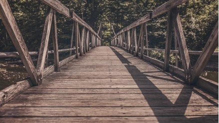 Ahşap Köprü Duvar Kağıdı