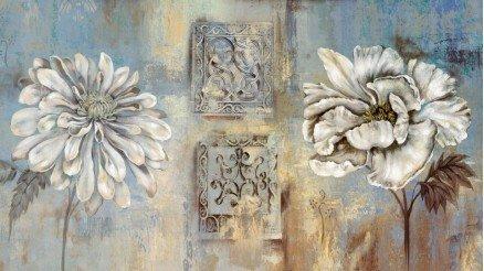 Çiçek Tablo Duvar Kağıdı
