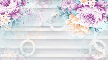 Renkli Derinlik Duvar Kağıdı