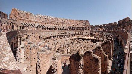 Flavianus Amfitiyatro Kolezyum Duvar Kağıdı
