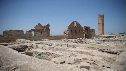 Tarihi Yapı Kalıntıları Duvar Kağıdı