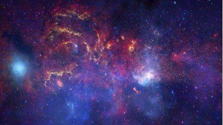 Galaksi Işıkları Duvar Kağıdı