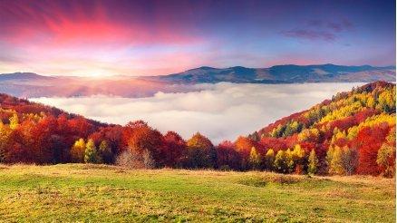 Bulutların Üzerindeki Cennet Duvar Kağıdı