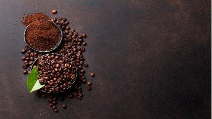 Toz Kahve ve Çekirdek Kahve Duvar Kağıdı