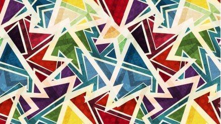Soyut Geometrik Duvar Kağıdı