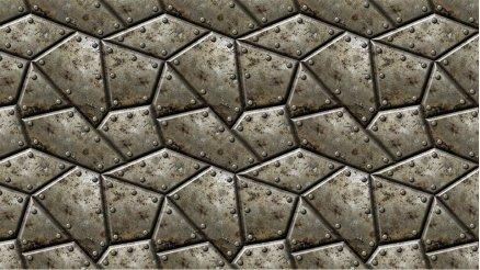 Metal Zırhlı Duvar Kağıdı