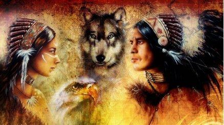 Kızılderili Duvar Kağıdı