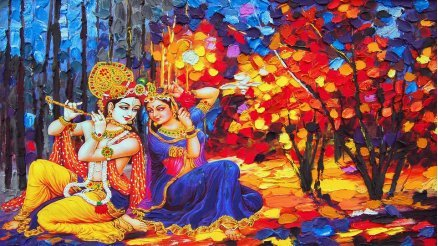 Sanatsal Hint Kültürü Duvar Kağıdı