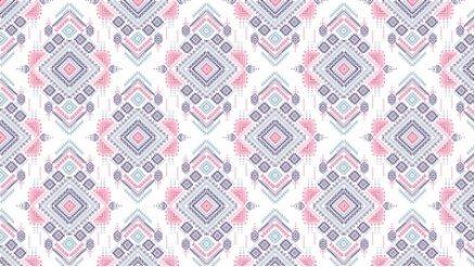 Geometrik Desenli Duvar Kağıdı