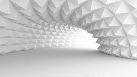 Trigonal Tünel Duvar Kağıdı