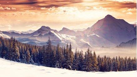 Karlı Dağ Duvar Kağıdı