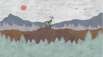 SNT-160017107 - Sanatsal Duvar Kağıdı