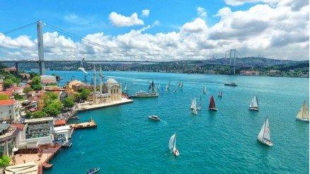 İstanbul Boğazı Duvar Kağıdı