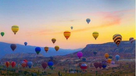 Nevşehir Balonlar Duvar Kağıdı