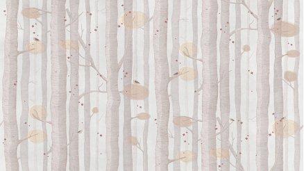 Ağaç Gövdeleri ve Küçük Kuşlar Duvar Kağıdı