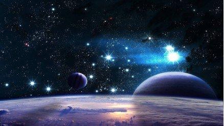 UZY-150017010 Uzay Duvar Kağıdı