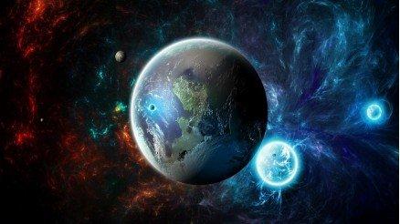 UZY-150017011 Uzay Duvar Kağıdı